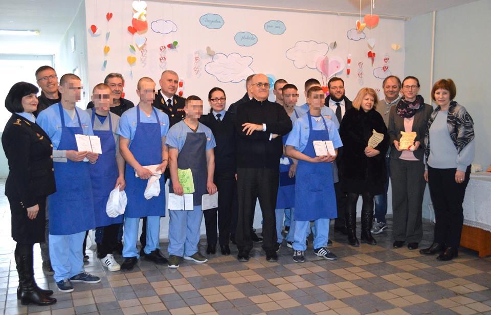 Minorii din custodia Penitenciarului Goian au primit diplomele de calificare profesională