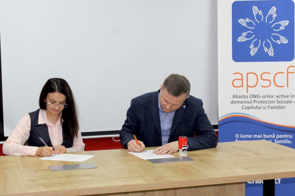 Fundația Regina Pacis a semnat un acord de colaborare cu APSCF